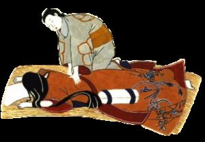 Shiatsu sur futon